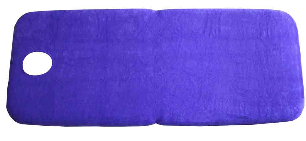 fitted terry sheet with face hole firm n fold