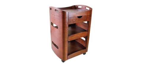 Firm.n.Fold Timber Equipment Trolley