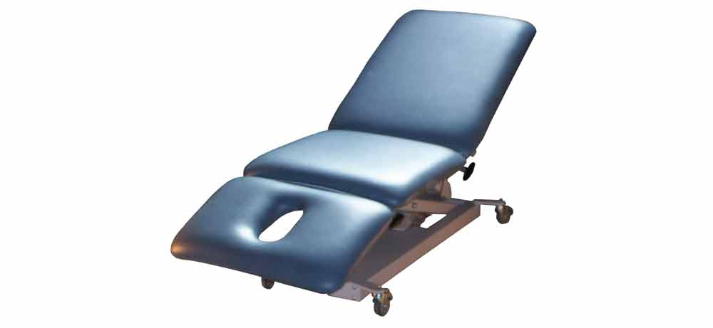 Firm-n-Fold Powerlift electric 3 piece treatment table for massage, phsio, chiro, osteo, beauty and podiatry treatments