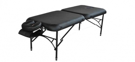 Healers Choice Featherlite very light Portable Aluminium Massage Table for mobile massage therapy