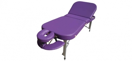 Firm-n-Fold Zuma Ultra Contour Portable Treatment Table, massage table with lift up backrest